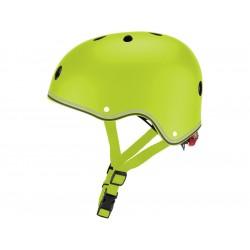 Globber - Dětská přilba Junior Primo Lights Lime Green XS/S