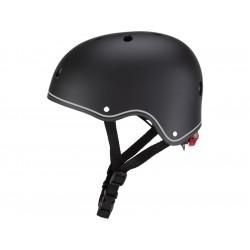 Globber - Dětská přilba Junior Primo Lights Black XS/S