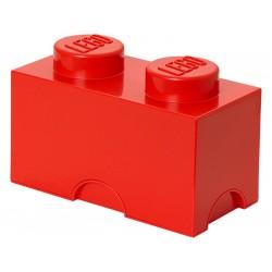 LEGO úložný box 125x250x180mm - červený