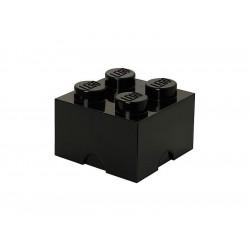 LEGO úložný box 250x250x180mm - černý