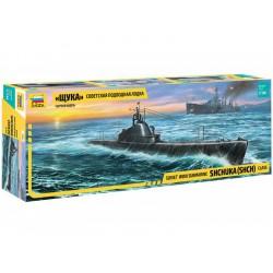 Zvezda ponorka třídy Ščuka (1:144)
