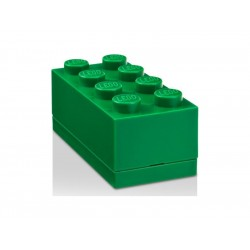 LEGO Mini Box 46x92x43mm - tmavě zelený