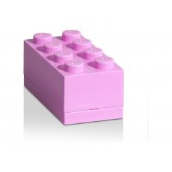 LEGO Mini Box 46x92x43mm - růžový