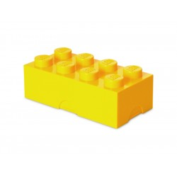 LEGO box na svačinu 100x200x75mm - žlutý