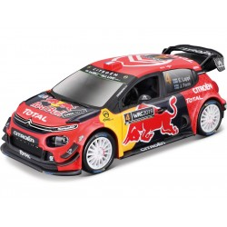 Bburago Citroen C3 WRC 2019 Monte Carlo 1:32 Esapekka Lappi