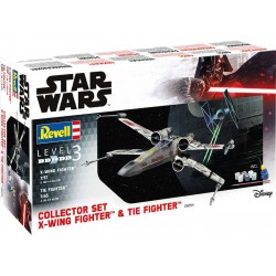 Revell X-Wing Fighter (1:57) + TIE Fighter (1:65) (giftset)
