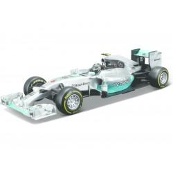 Bburago Mercedes F1 W05 Hybrid 1:32 6 Rosberg