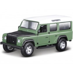 Bburago Land Rover Defeneder 110 1:32 zelená