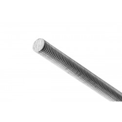 Ocelová závitová hřídel M2, 200mm, 10 ks.