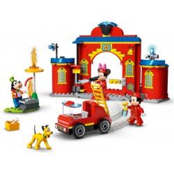 LEGO DUPLO - Hasičská stanice a auto Mickeyho a přátel