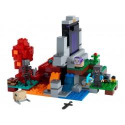 LEGO Minecraft - Zničený portál