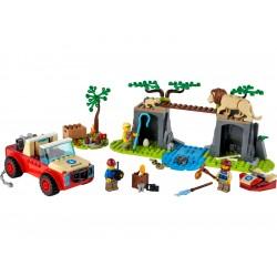 LEGO City - Záchranářský teréňák do divočiny