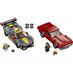 LEGO Speed Champions - Chevrolet Corvette C8.R a 1968...