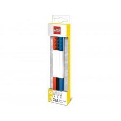 LEGO Gelová pera, mix barev - 3 ks