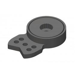 Servo Saver - HD velký - 23-24-25 zubů - úzký konec, 3mm...
