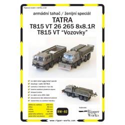 Tatra 815 VT/Vozovky