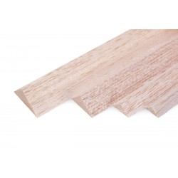 Trojúhelníková lišta 15x15x1000mm