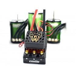 Castle motor 1410 3800ot/V 5mm senzored, reg. Copperhead