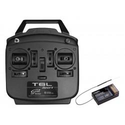 Futaba T6L Sport 2.4GHz mód 2, R3106GF