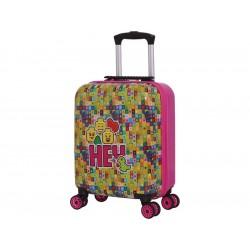 "LEGO Luggage Cestovní kufr Play Date 16"" - minifigures, HEY"
