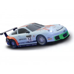 SCX Compact Porsche 911 GT3 Gulf se světly