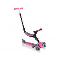 Globber - Koloběžka Go Up Plus Lights skládací Plus Pink