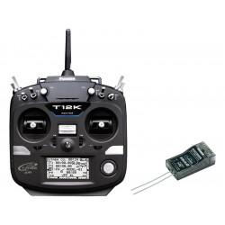 Futaba T12K 2.4GHz Mód 1, R3008SB