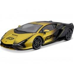 Bburago Lamborghini Sián FKP 37 1:18 žlutá