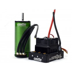Castle motor 1520 1650ot/V senzored, reg. Mamba Monster X 8S