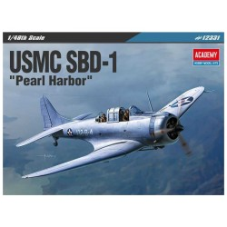 Academy Douglas SBD-1 USMC Pearl Harbor (1:48)