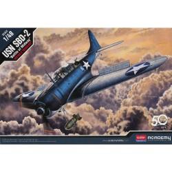 Academy Douglas SBD-2 USN Midway (1:48)
