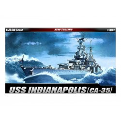 Academy USS CA-35 Indianapolis (1:350)