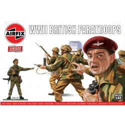Airfix figurky - WWII British Paratroops (1:32) (Vintage)