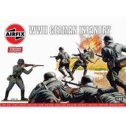Airfix figurky - WIWII German Infantry (1:32) (Vintage)