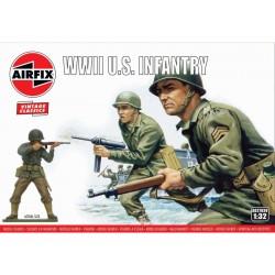 Airfix figurky - WWII U.S. Infantry (1:32) (Vintage)