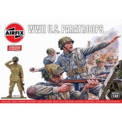 Airfix figurky - WWII U.S. Paratroops (1:32) (Vintage)