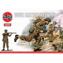 Airfix figurky - WWII British Infantry (1:32) (Vintage)
