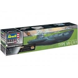 Revell ponorka Typ VII C/41 (Platinum Edition) (1:72)