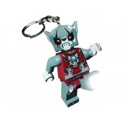 LEGO Chima Worriz svítící klíčenka