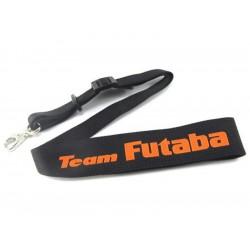 Popruh vysílače Futaba Team černo-oranžový