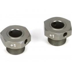 TLR 8ight 3.0: Hliníkový náboj kola +1mm