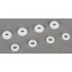 TLR 8ight 3.0: Vodící vložky pístnice tlumiče (4)