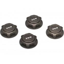 Hliníková matice kol 17mm šedá (4)