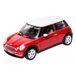 Bburago Mini Cooper 1:18 červená
