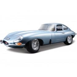 Bburago Jaguar E-type Coupe 1:18 stříbrná