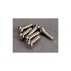 Vrut křížový půlkulatá hlava zink. 2x6mm (6)