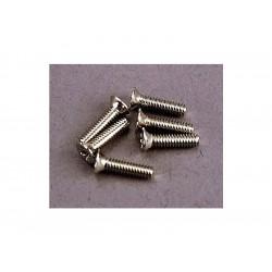 Šroub křížový zápuštěná hlava zink. M2x8mm (6)