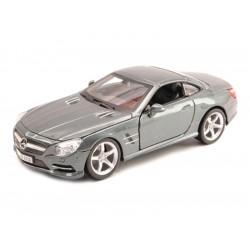 Bburago Plus Mercedes-Benz SL 500 Hardtop 1:24 stříbrná