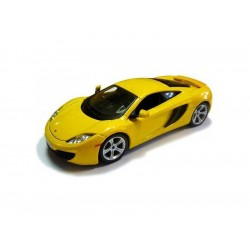 Bburago Plus McLaren MP4-12C 1:24 žlutá