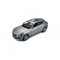 Bburago Plus Maserati Levante 1:24 stříbrná